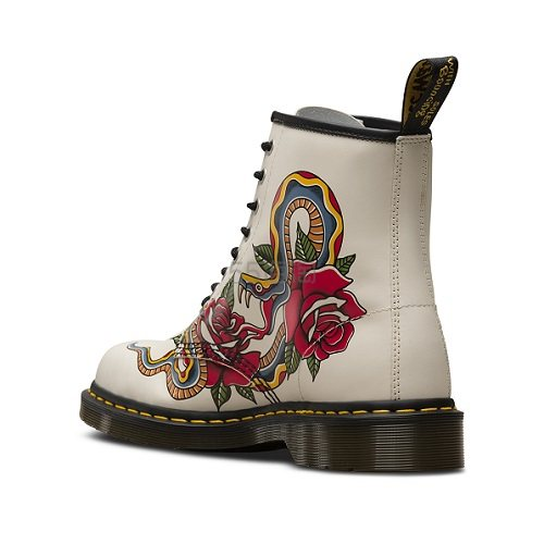 Dr. Martens 8孔老虎印花1460马丁靴 £95(约841元) - 海淘优惠海淘折扣|55海淘网