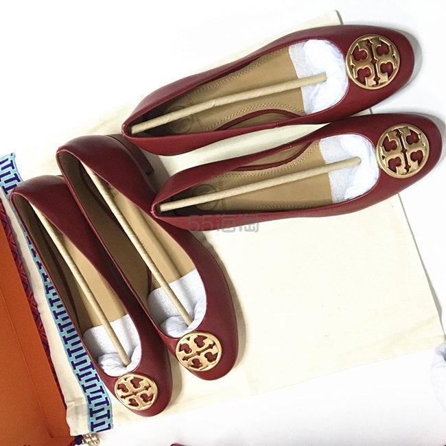 【5姐晒单】Tory Burch 超美丽百搭的红色芭蕾鞋