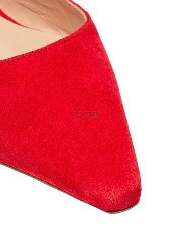 【最后一双】REJINA PYO Barbara 几何粗跟绑带小牛皮尖头鞋 37码 7(约2,475元) - 海淘优惠海淘折扣|55海淘网