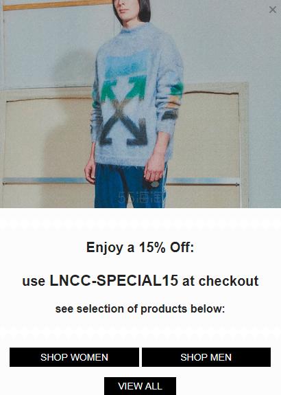 LN-CC (USA):精选指定品牌正价单品 立享8.5折 - 海淘优惠海淘折扣|55海淘网