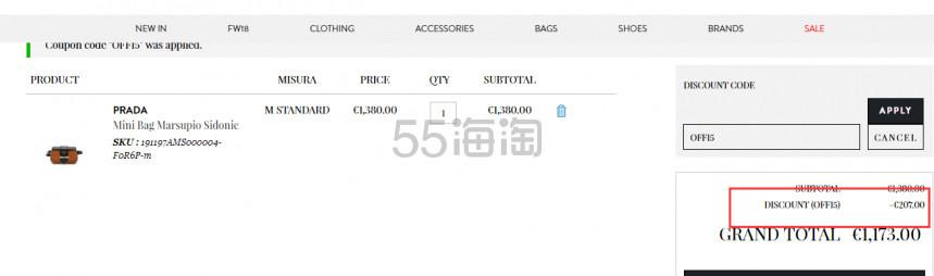 【封面同款也参加】Coltorti Boutique:精选 FENDI、Prada 等设计师品牌 8.5折 - 海淘优惠海淘折扣|55海淘网