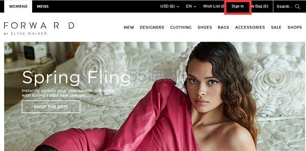 FORWARD 美国知名奢侈品购物网站 海淘攻略 - 海淘优惠海淘折扣|55海淘网