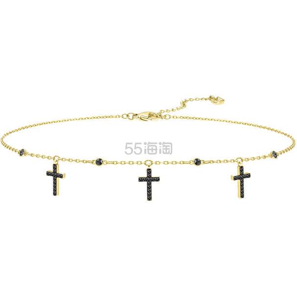 Swarovski Cross 十字架 Chocker 项链 .5(约298元) - 海淘优惠海淘折扣|55海淘网