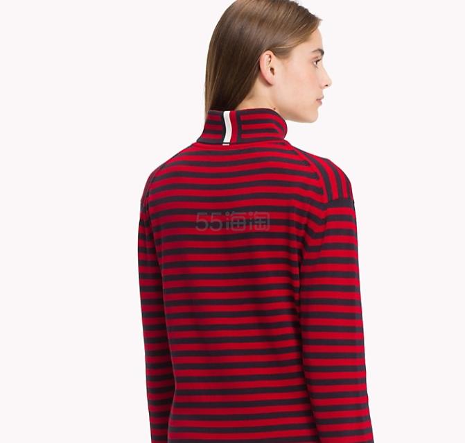 Tommy Hilfiger 学院风撞色条纹打底衫 9.99(约870元) - 海淘优惠海淘折扣|55海淘网