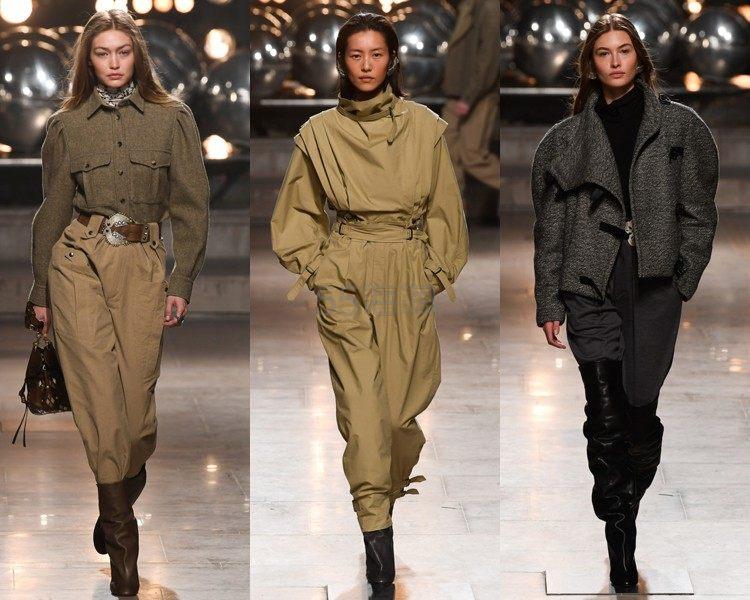 巴黎时装周 | Isabel Marant 2019秋冬系列