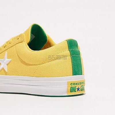 Converse 匡威 One Star OX 大童款板鞋 .99(约168元) - 海淘优惠海淘折扣|55海淘网