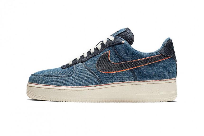 【5姐资讯】Nike 与牛仔品牌 3X1 合作款 Air Force 1, 单宁设计再现。 - 海淘优惠海淘折扣|55海淘网