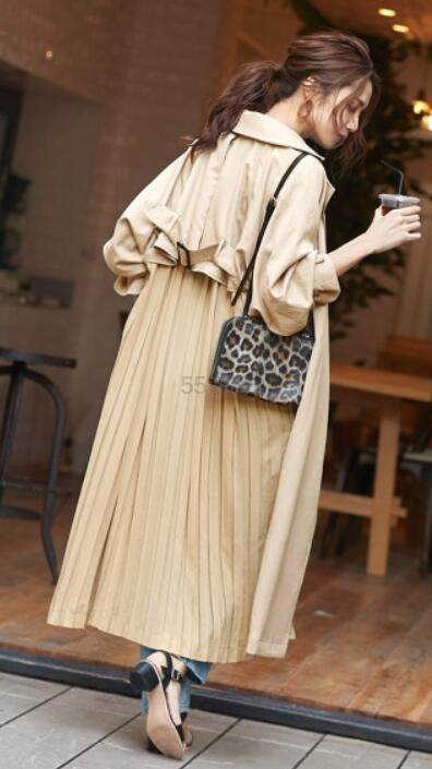 titivate 日系女式系腰带大衣 3色 6,146日元(约372元) - 海淘优惠海淘折扣 55海淘网