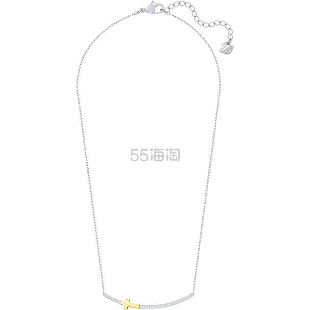 Swarovski Harvey 十字架笑脸形项链 .5(约298元) - 海淘优惠海淘折扣|55海淘网