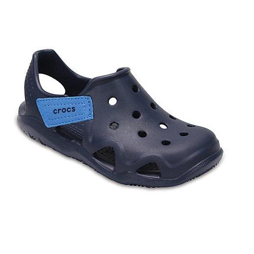 Crocs Kids Swiftwater™ Wave 儿童洞洞凉鞋 .49(约77元) - 海淘优惠海淘折扣|55海淘网