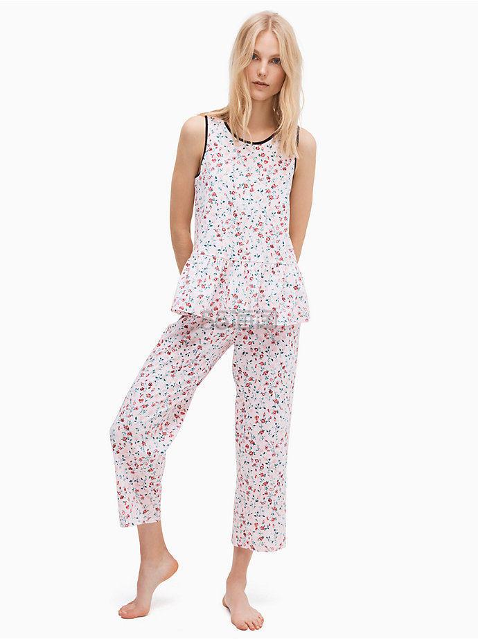 Kate Spade  ditsy floral pj set 印花睡衣套装 (约302元) - 海淘优惠海淘折扣|55海淘网