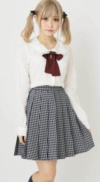 Ank Rouge 校园风日系百褶格裙 3色 7,452日元(约454元) - 海淘优惠海淘折扣|55海淘网
