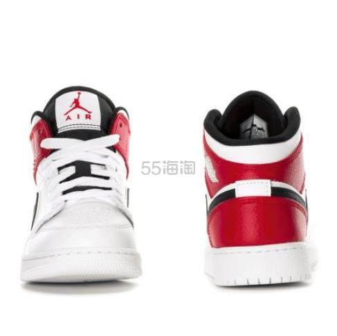 【新上架】Air Jordan 1 Mid 小芝加哥 大童款篮球鞋 .99(约604元) - 海淘优惠海淘折扣|55海淘网