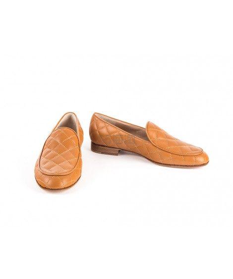 Gianvito Rossi 菱格纹平底乐福鞋 3折 £186(约1,628元) - 海淘优惠海淘折扣|55海淘网