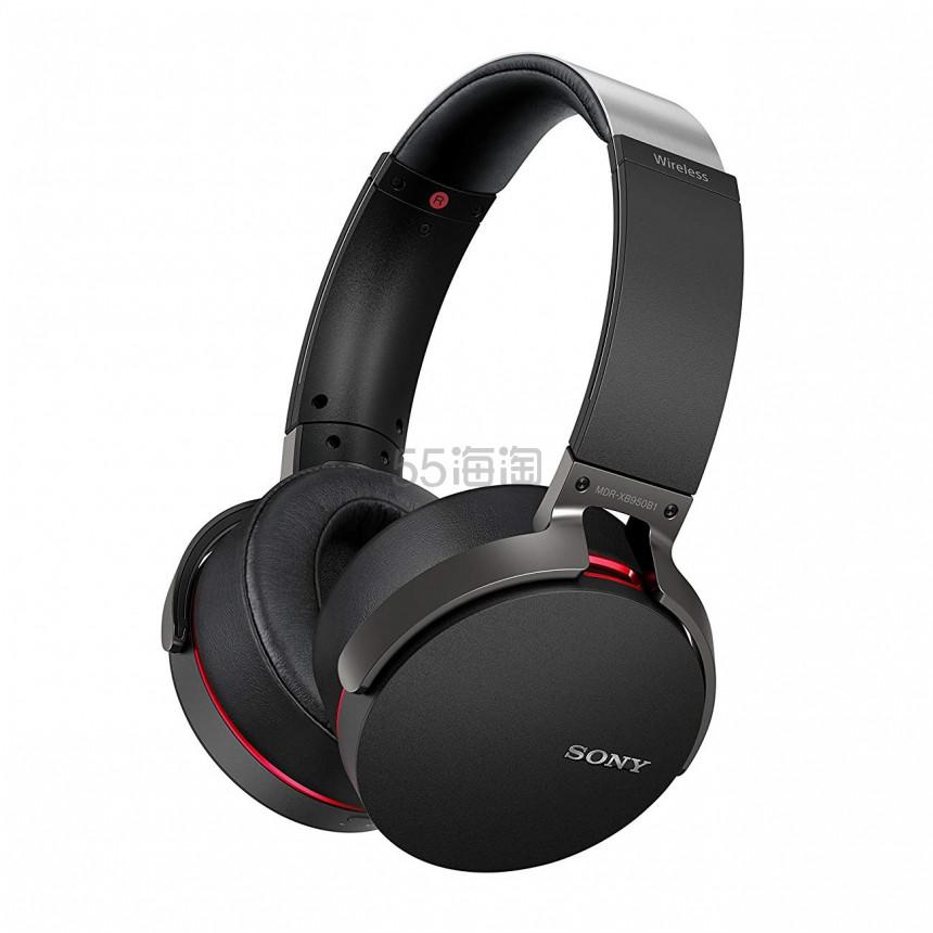 颜值惊人!【中亚Prime会员】Sony 索尼 MDR-XB950B1 无线蓝牙重低音立体声耳机头戴式 黑色 到手价574元 - 海淘优惠海淘折扣|55海淘网