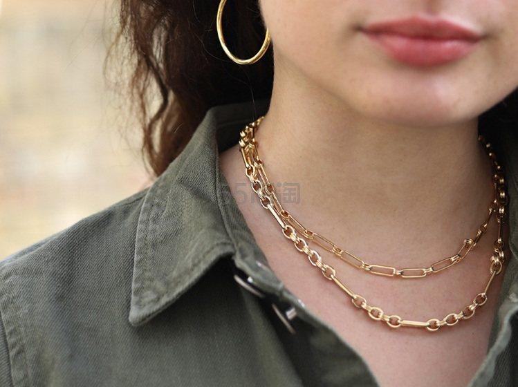 Missoma 金色链条项链 £107.28(约939元) - 海淘优惠海淘折扣|55海淘网