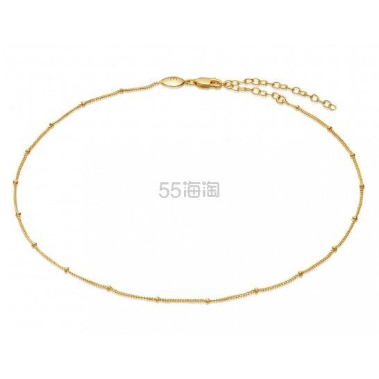 Missoma 18ct 镀金细链条颈链 £36(约315元) - 海淘优惠海淘折扣|55海淘网