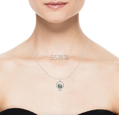 Crystaluxe 施华洛世奇水晶双鸟项链 (约262元) - 海淘优惠海淘折扣 55海淘网