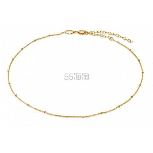 Missoma 18ct 金色珠子极简颈链 £40(约348元) - 海淘优惠海淘折扣 55海淘网