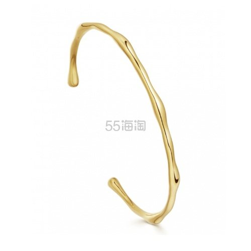 Missoma 金色扭曲开口手镯 £63.2(约550元) - 海淘优惠海淘折扣|55海淘网
