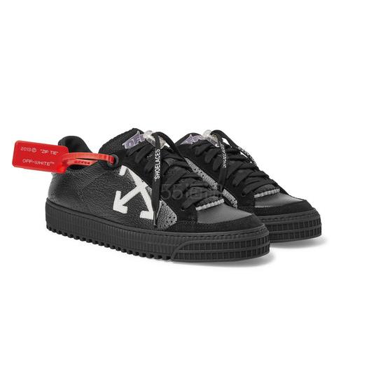OFF-WHITE 3.0 Polo 全黑运动鞋 £425(约3,771元) - 海淘优惠海淘折扣|55海淘网