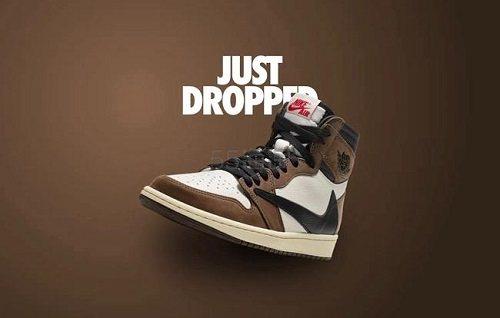 【5姐资讯】Travis Scott x Air Jordan 1 联名款球鞋 倒钩 即将上市 - 海淘优惠海淘折扣 55海淘网