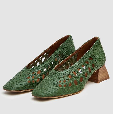 36码有货~Miista Marina Woven Heel 女色编织女鞋 6.99(约1,432元) - 海淘优惠海淘折扣|55海淘网