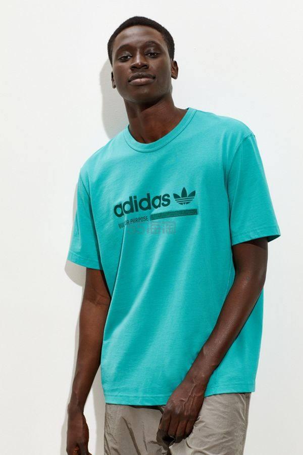 adidas 阿迪达斯 Logo 短袖T恤
