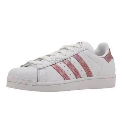 【大码福利】adidas Originals 三叶草 Superstar 大童款板鞋 .96(约345元) - 海淘优惠海淘折扣|55海淘网