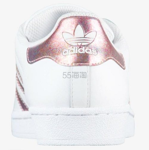 【大码福利】adidas Originals 三叶草 Superstar 大童款板鞋 US7码 .99(约276元) - 海淘优惠海淘折扣 55海淘网