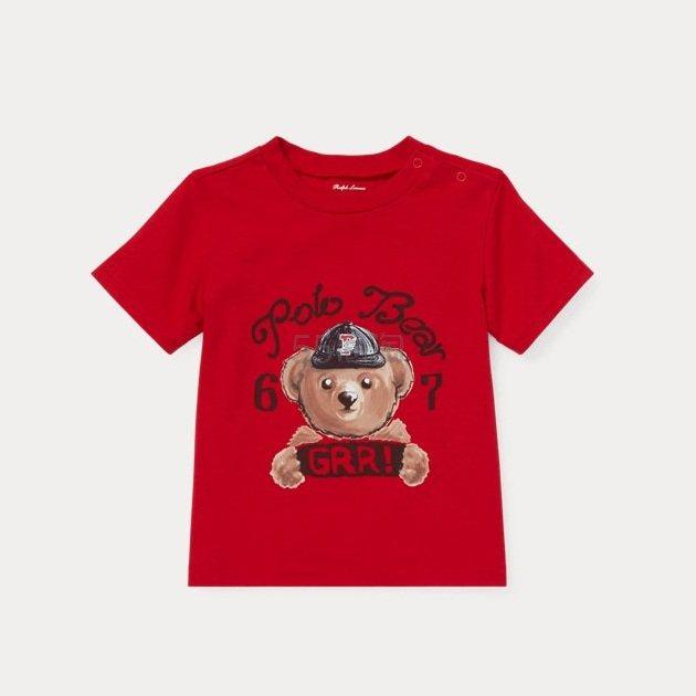 Ralph Lauren Polo Bear 婴儿小熊T恤 .09(约63元) - 海淘优惠海淘折扣|55海淘网