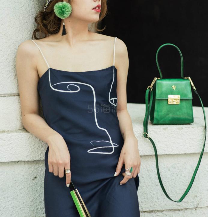 Even Vintage 原创趣味人脸图案印花连衣裙 ¥395 - 海淘优惠海淘折扣|55海淘网