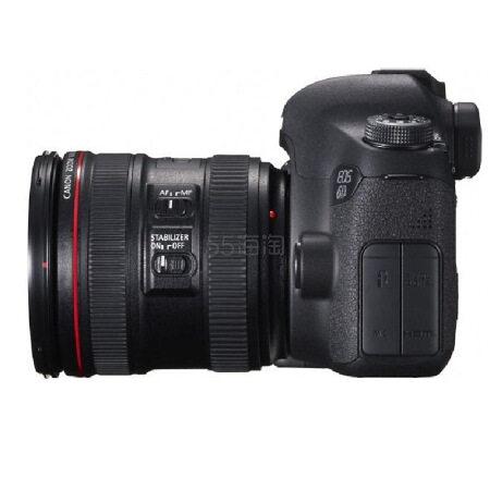 【100元大券】Canon 佳能 EOS 6D(EF 24-70mm f/4L IS USM 镜头)全画面单反套机 8899元包邮(需用券) - 海淘优惠海淘折扣|55海淘网