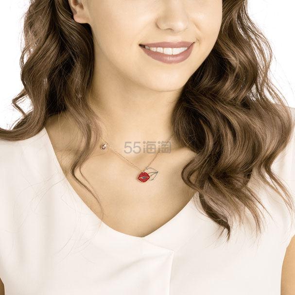 Swarovski 施华洛世奇 Mine Lip 红唇系列项链 £34.5(约303元) - 海淘优惠海淘折扣|55海淘网