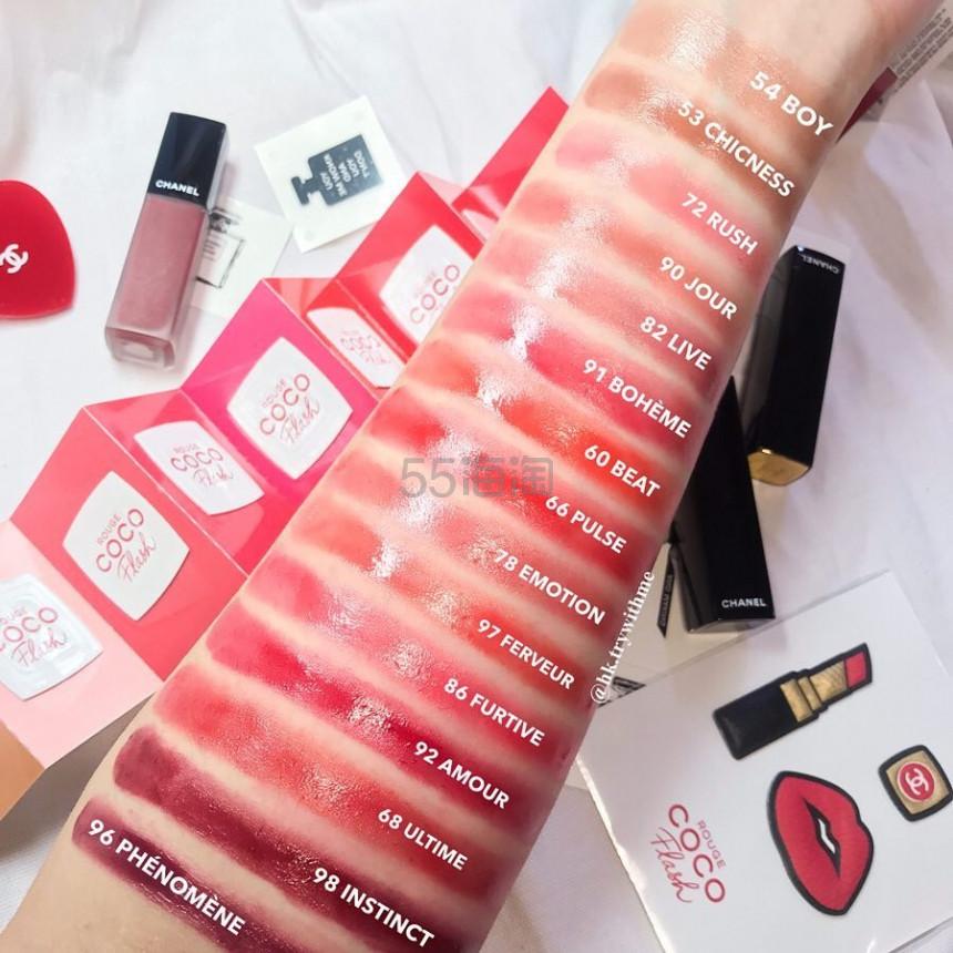 【水光唇】Chanel 香奈儿 2019新品 rouge coco flash 炫光唇膏 ¥234.85 - 海淘优惠海淘折扣|55海淘网