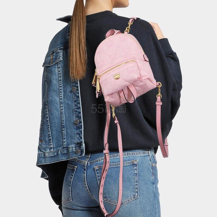 Moschino 粉色小熊 Mini 双肩包 8(约3,031元) - 海淘优惠海淘折扣|55海淘网