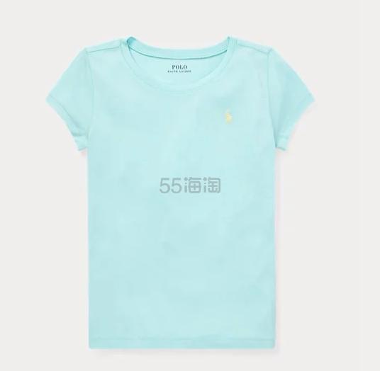 Ralph Lauren Cotton-Modal Crewneck 大童棉质T恤 .29(约92元) - 海淘优惠海淘折扣|55海淘网
