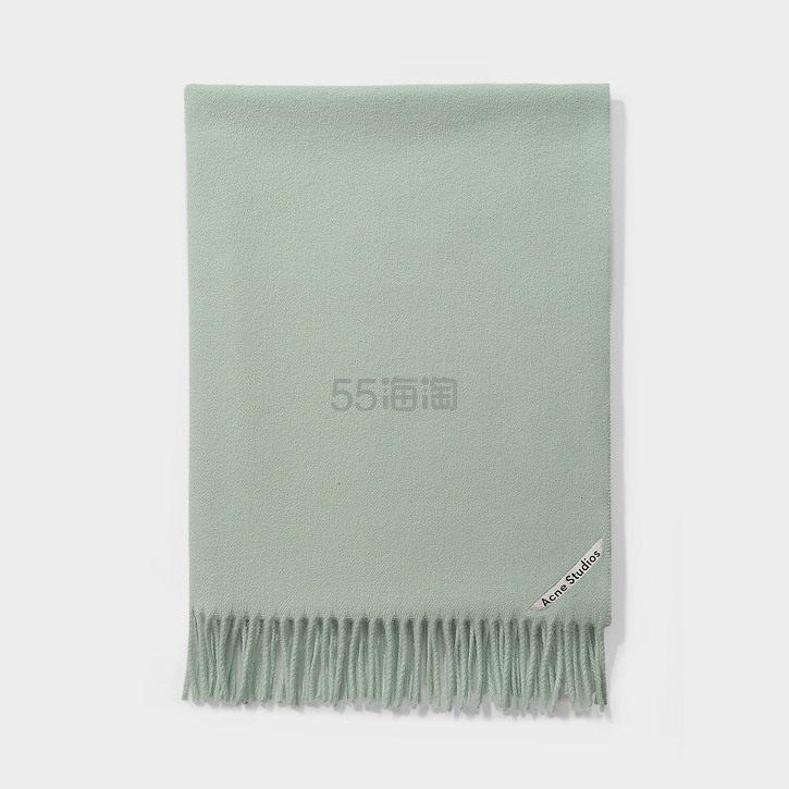 Acne Studios 薄荷灰绿经典款羊毛围巾 6(约863元) - 海淘优惠海淘折扣|55海淘网