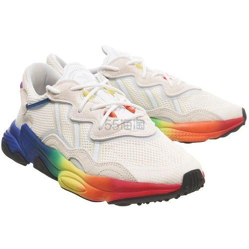 暂时码全!Adidas 阿迪达斯 Ozweego 彩虹色运动鞋 £89.99(约787元) - 海淘优惠海淘折扣|55海淘网