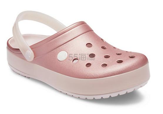 Crocs 卡骆驰 Crocban Ice Pop Clog 厚底洞洞鞋 .49(约217元) - 海淘优惠海淘折扣|55海淘网