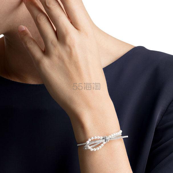 Swarovski 施华洛世奇 Leonore 蝴蝶结珍珠手镯 ¥745 - 海淘优惠海淘折扣|55海淘网