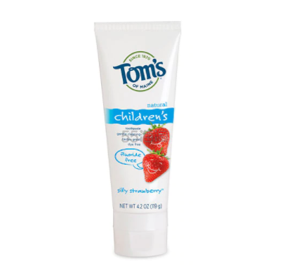 【满享7折】Toms of Maine儿童无氟牙膏 草莓小子 119g .27(约16元) - 海淘优惠海淘折扣|55海淘网