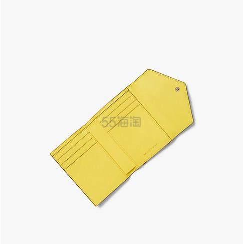 【新色加入】Michael Kors 真皮信封折叠钱包 小号 (约248元) - 海淘优惠海淘折扣|55海淘网