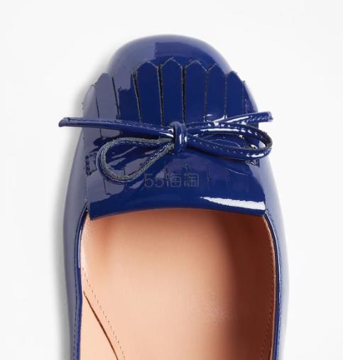 Brooks Brothers 纯色蝴蝶结中跟单鞋 9(约1,027元) - 海淘优惠海淘折扣 55海淘网