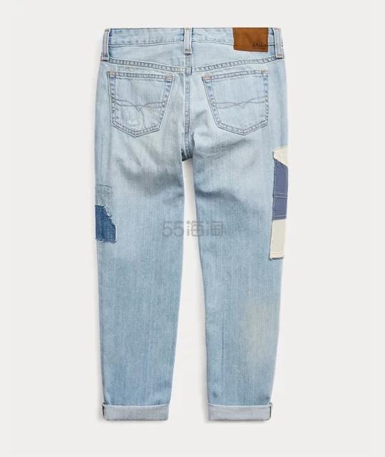 Ralph Lauren 拉夫劳伦 Astor Patchwork 拼贴布大童牛仔裤 .69(约534元) - 海淘优惠海淘折扣 55海淘网