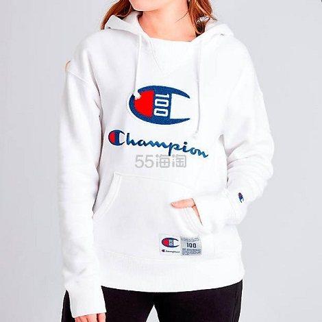 【断码福利】Champion 冠军 Century 女子连帽卫衣 (约240元) - 海淘优惠海淘折扣|55海淘网