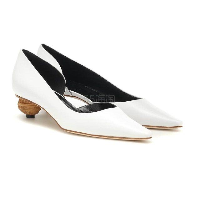LOEWE 白色高跟鞋 €585(约4,523元) - 海淘优惠海淘折扣|55海淘网