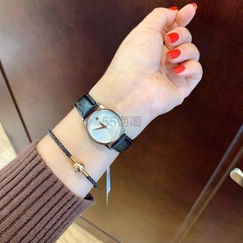 近期低价!Movado 摩凡陀 Museum 博物馆系列 女士时装腕表 2100003 9.99(约1,101元) - 海淘优惠海淘折扣|55海淘网