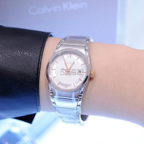 好价!Calvin Klein 卡尔文·克莱因 Step 系列 银色女士时装腕表 K6K33B46 .99(约482元) - 海淘优惠海淘折扣 55海淘网