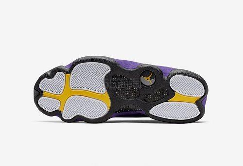 【5姐资讯】Air Jordan 乔丹 Retro 13 湖人配色 男子篮球鞋 即将上架 - 海淘优惠海淘折扣|55海淘网